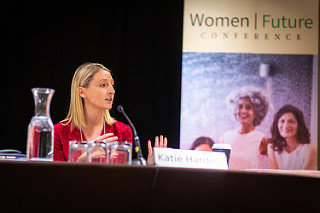 Speaking at the Women Future 2018 Conference - Technology trends and their implications on working women