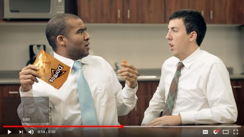 Crumbs. Bold Doritos YouTube ad cleared by ASA.