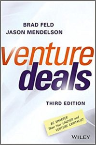 Venture Deals Book Cover for Startup Reads
