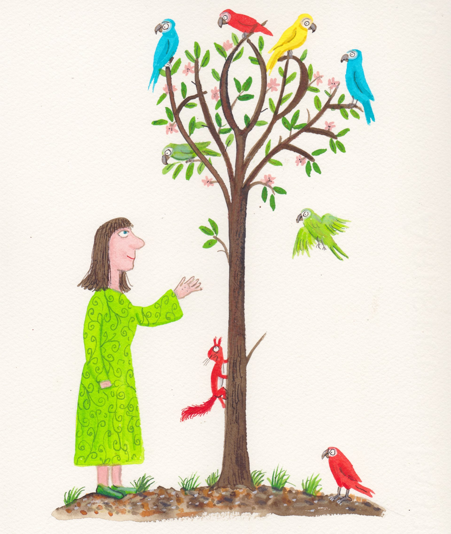 The Hope Tree - Illustration: Axel Scheffler